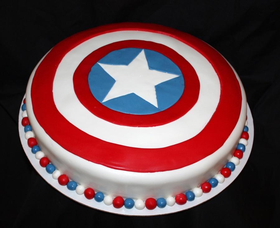 Captain America Shield Cakecentral Com