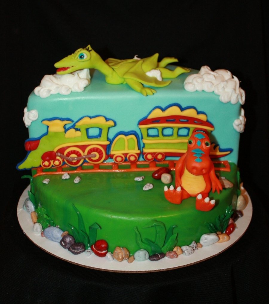 Dinosaur Train Cake Images : Dinosaur Train Cake - CakeCentral.com