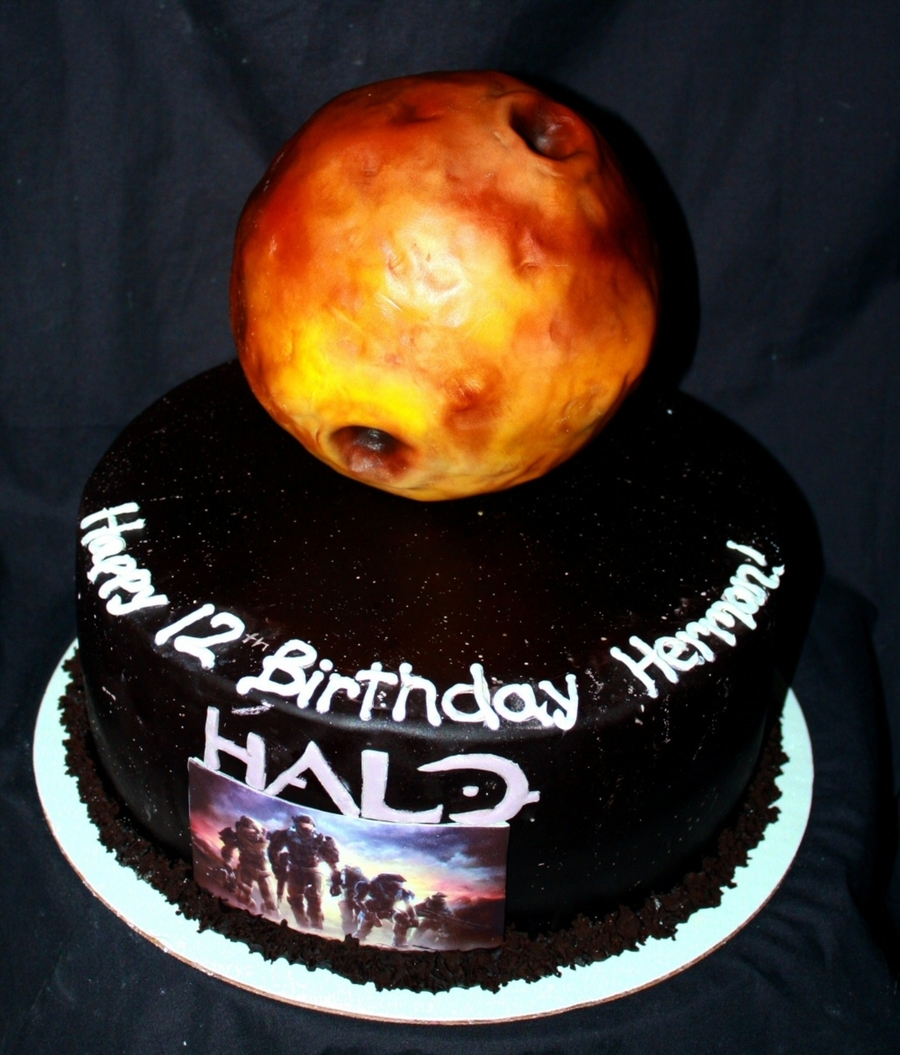 Halo: Reach Cake on Cake Central