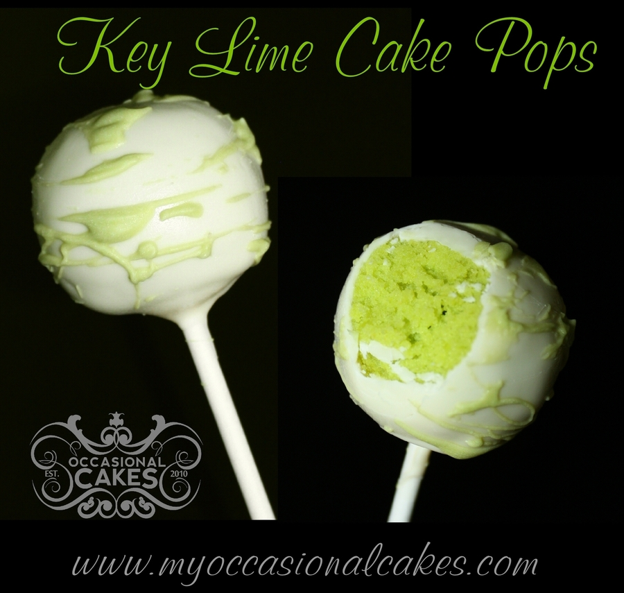 Key Lime Cake Pops on Cake Central