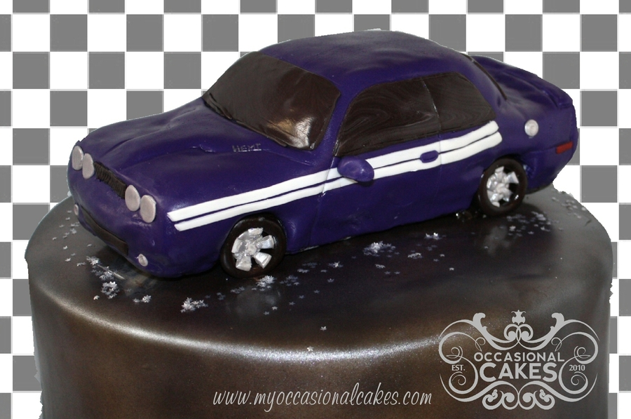 Dodge Challenger Cake on Cake Central
