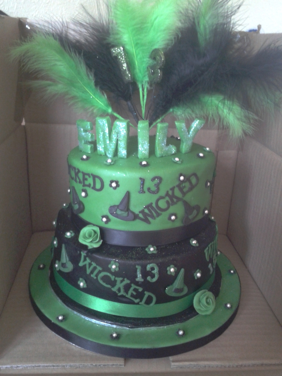 Wicked!!!  on Cake Central