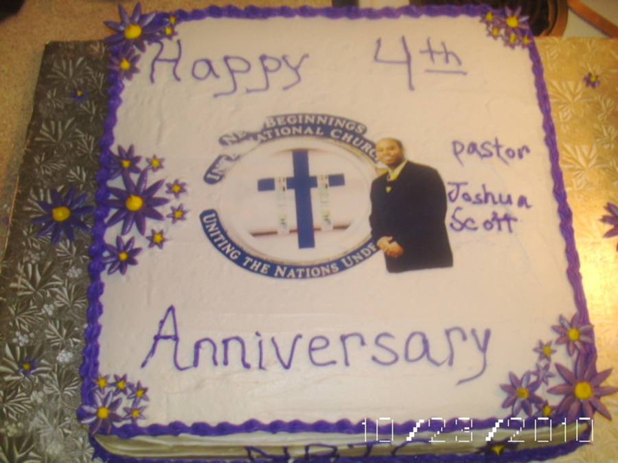 Cake Ideas For Church Anniversary : Church Anniversary Cake - CakeCentral.com
