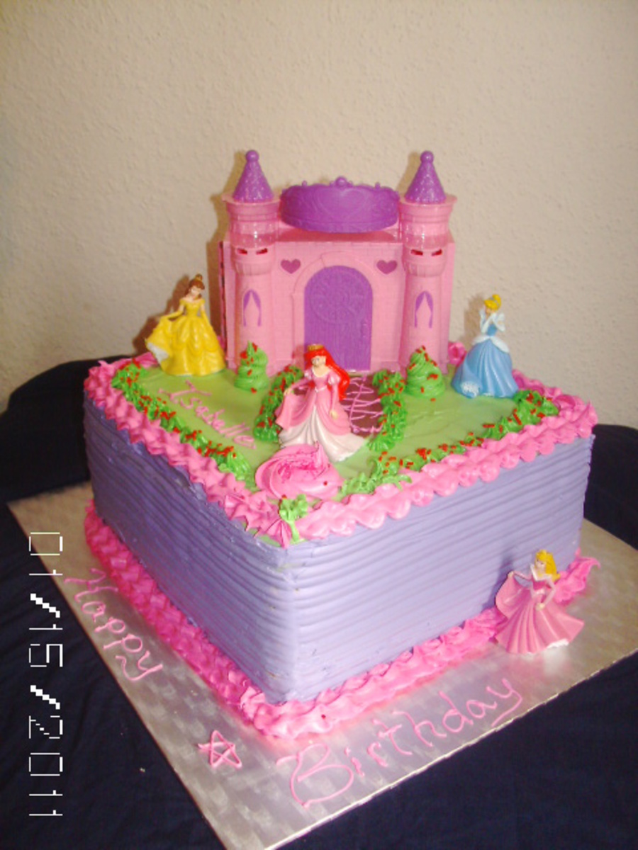 Awesome Disney Princess Cake Cakecentral Com Personalised Birthday Cards Petedlily Jamesorg