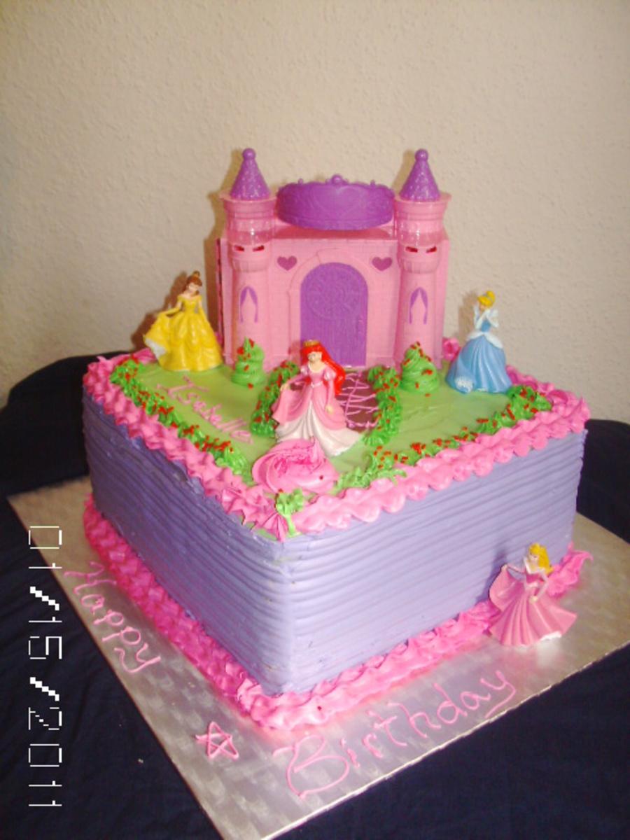 Pleasing Disney Princess Cake Cakecentral Com Funny Birthday Cards Online Aboleapandamsfinfo