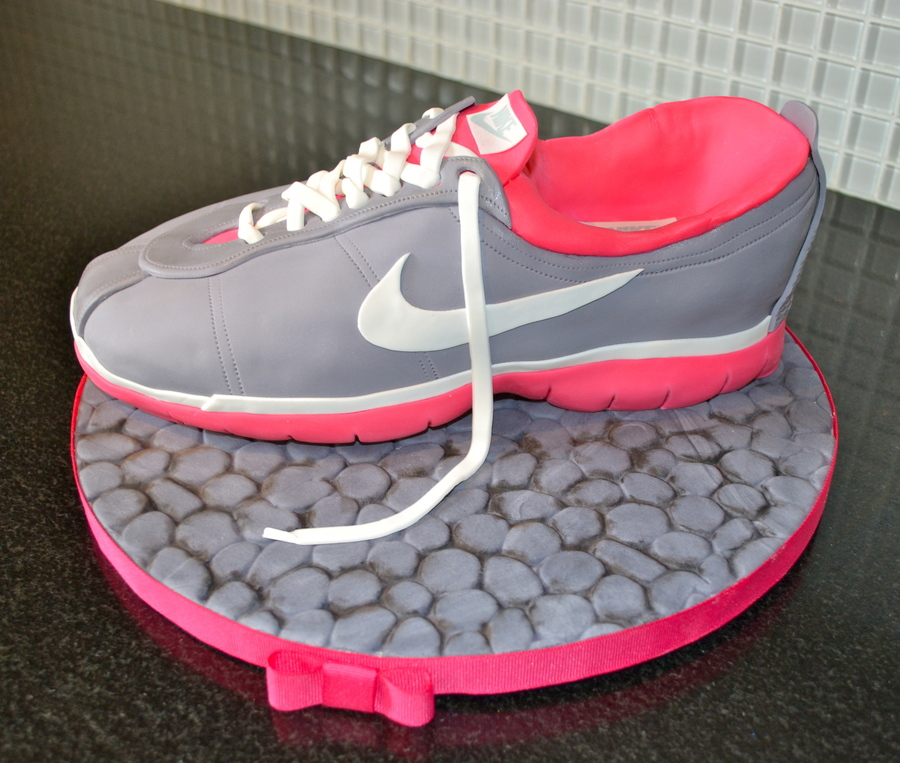 This Is The Running Shoe Cake I Made This Weekend I Would Definitely