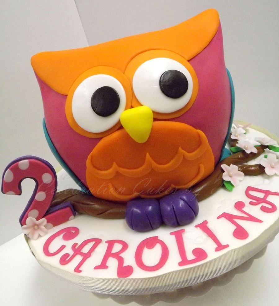 It's Another Owl Cake! on Cake Central