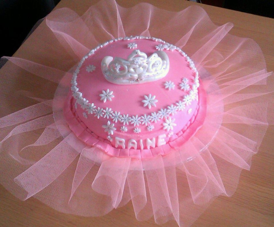 Tutu And Tiara Cake on Cake Central
