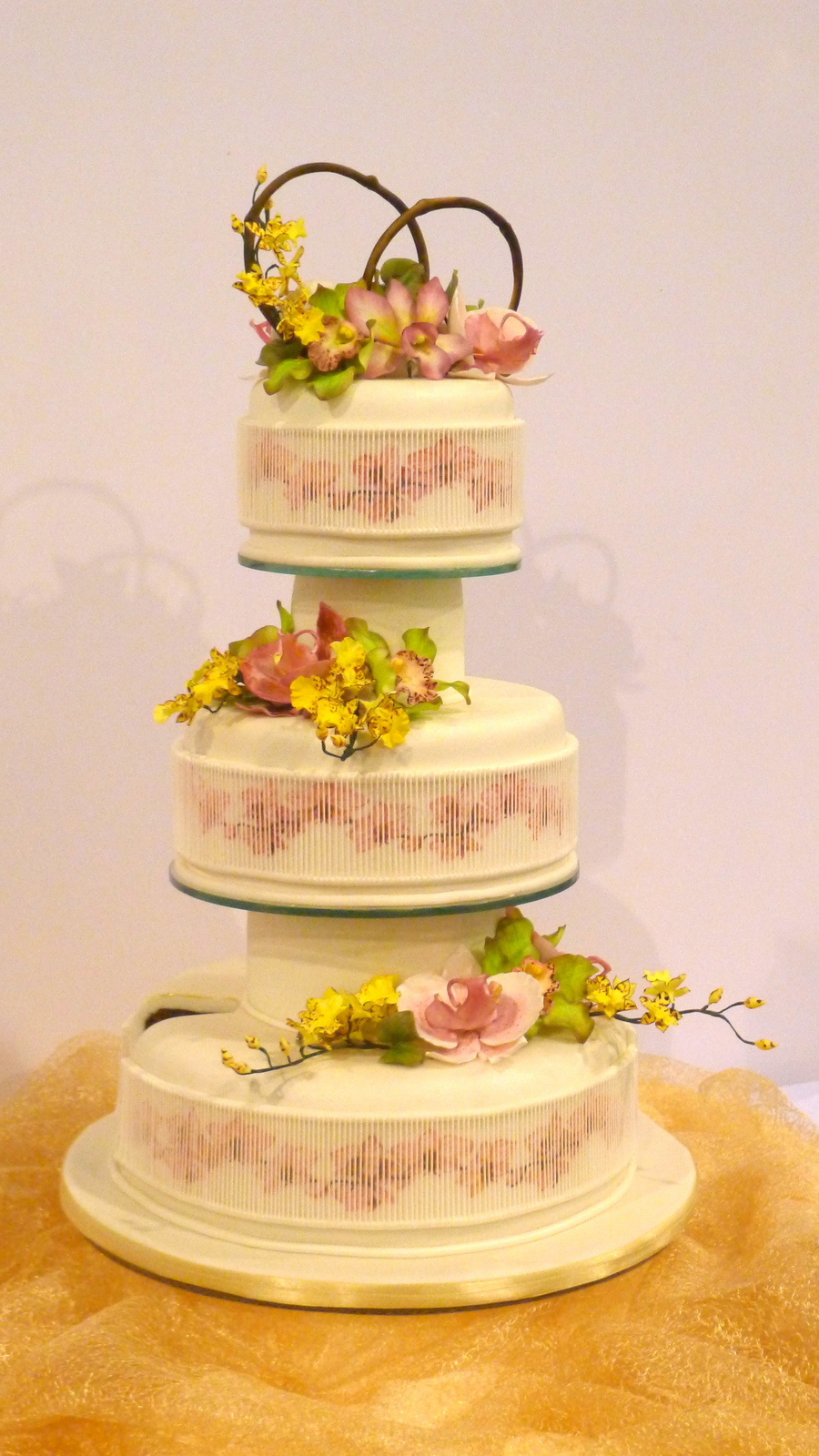 My Wedding Cake Entry At The 2012 Philippine Culinary Cup A Wacs Endorsed Culinary Competition This 3 Tiered Cake Represents The Oriental on Cake Central