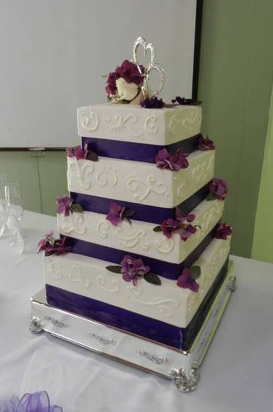 Barrie Wedding on Cake Central