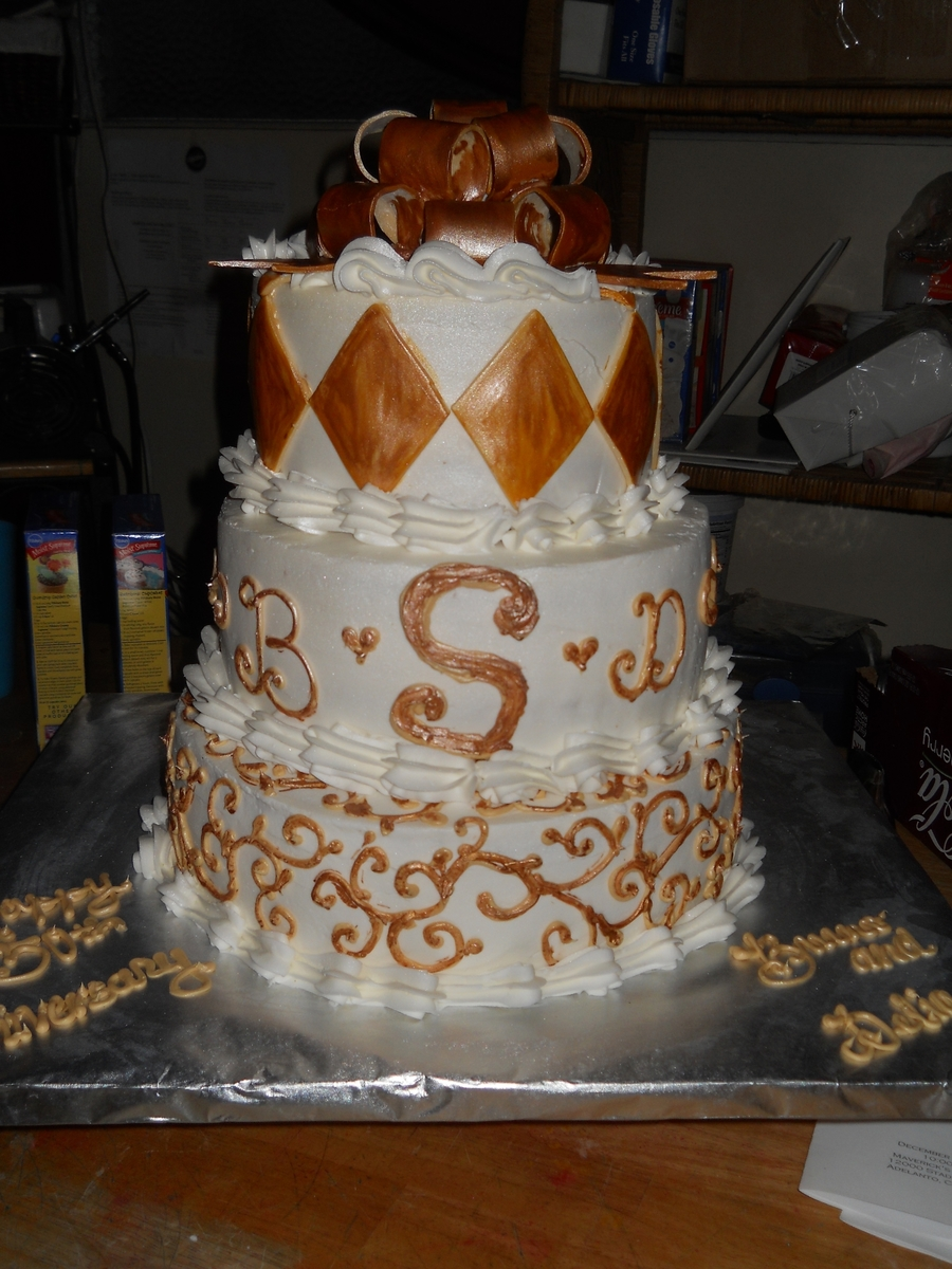 50 Year Anniversary on Cake Central
