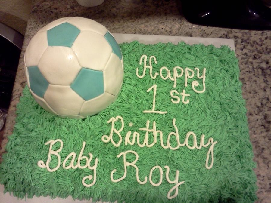 Soccer Ball Birthday Cake Cakecentral