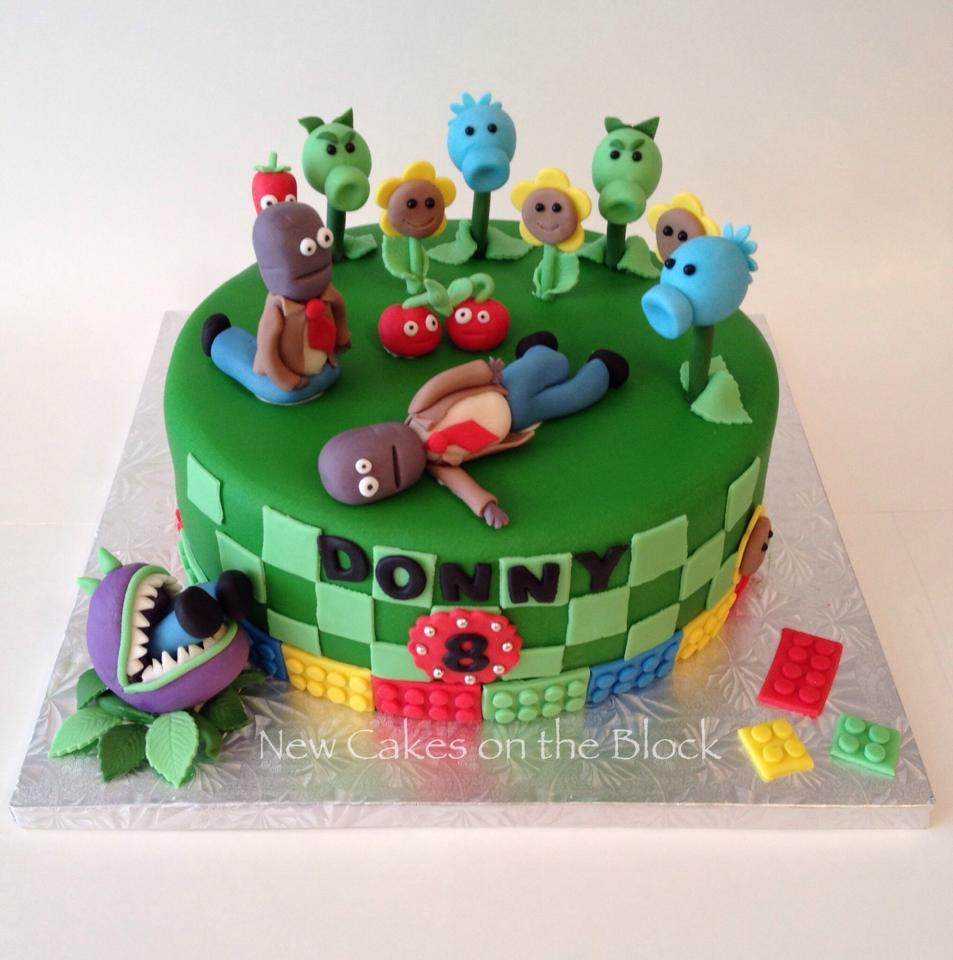 Plants Vs Zombies And Lego Cakecentral Com