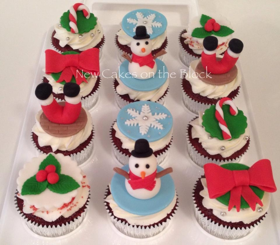 Christmas Themed Cakes Pictures.Christmas Themed Cupcakes Cakecentral Com
