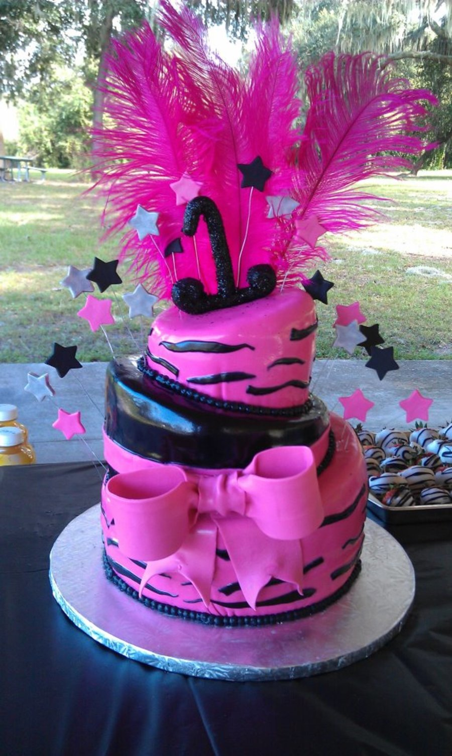 Nevaeh's 1St Birthday Cake on Cake Central