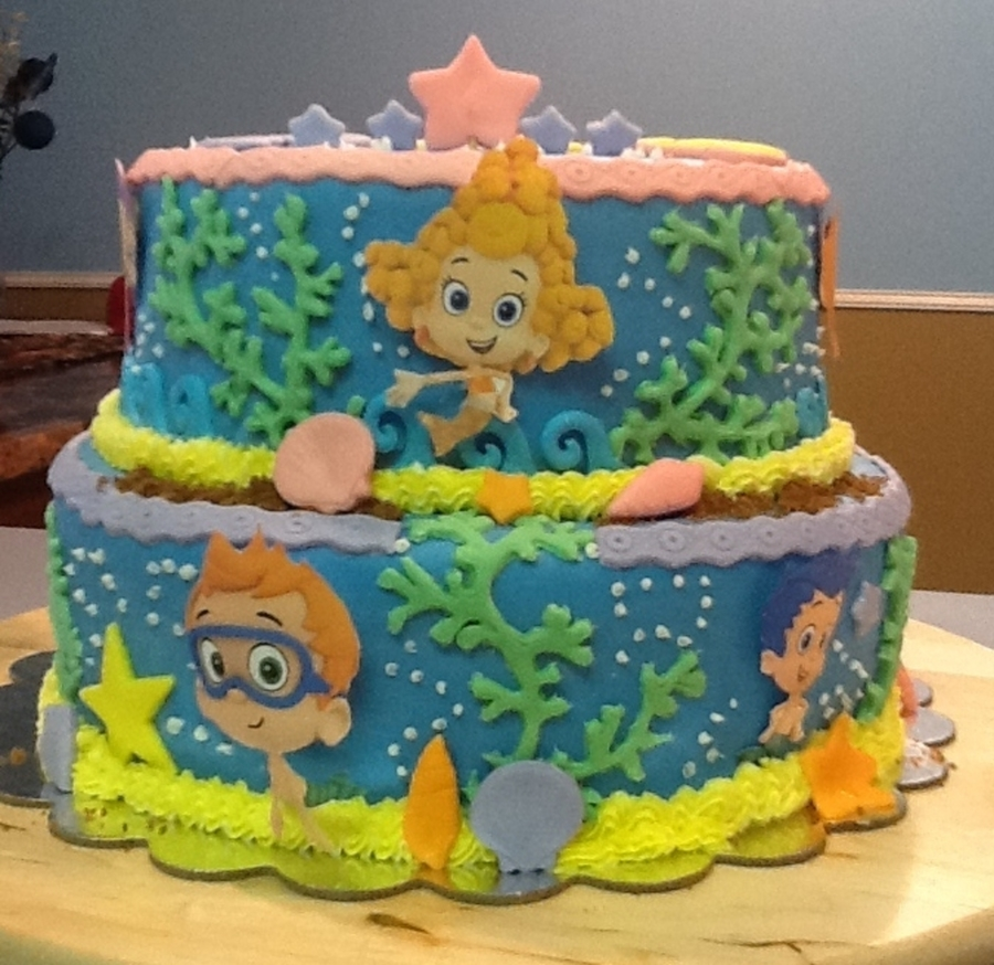 Bubble Guppies  on Cake Central