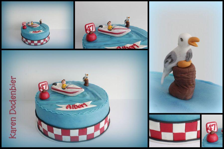 Speed Boat Cake Recipe