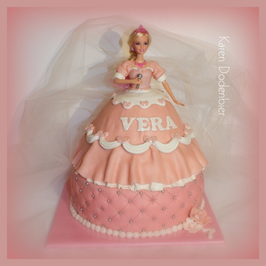 A Barbie Cake For Vera! on Cake Central