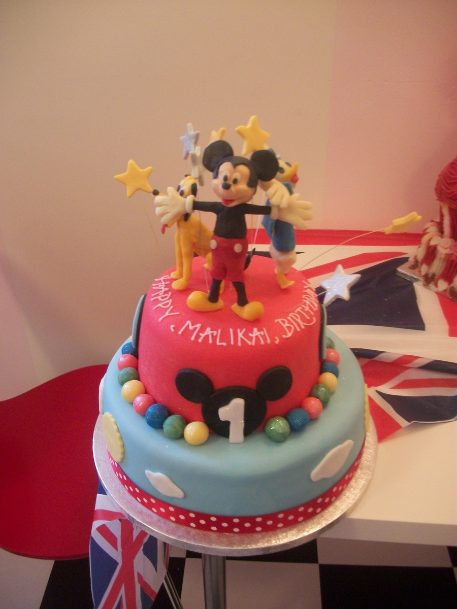 Disney Micky Mouseclubhouse Cake on Cake Central