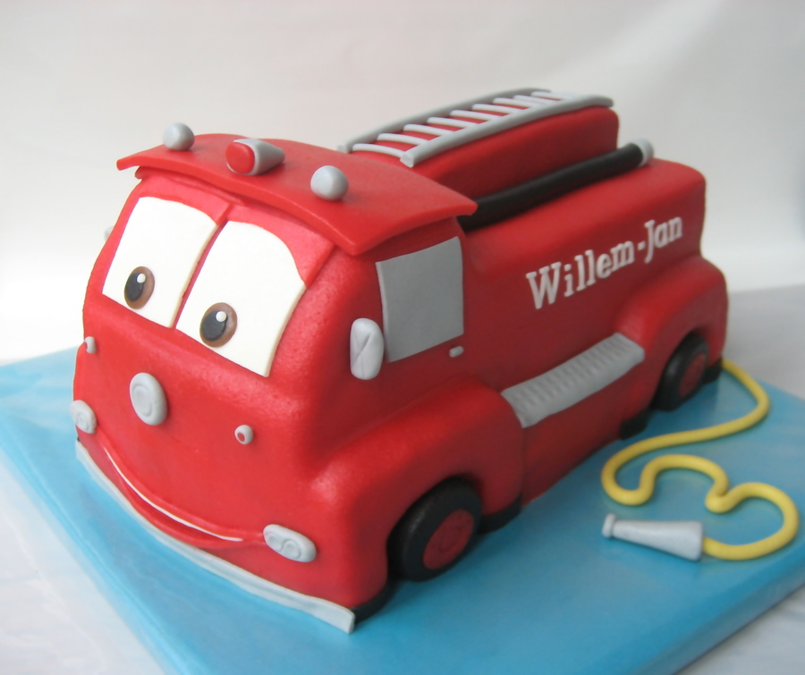 How To Make A Fireman Cake