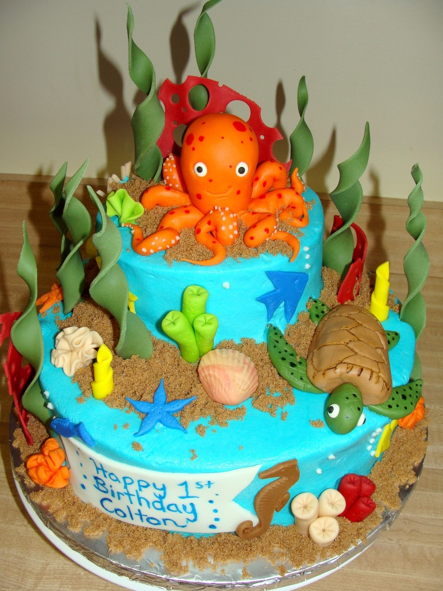 Undersea Cake on Cake Central