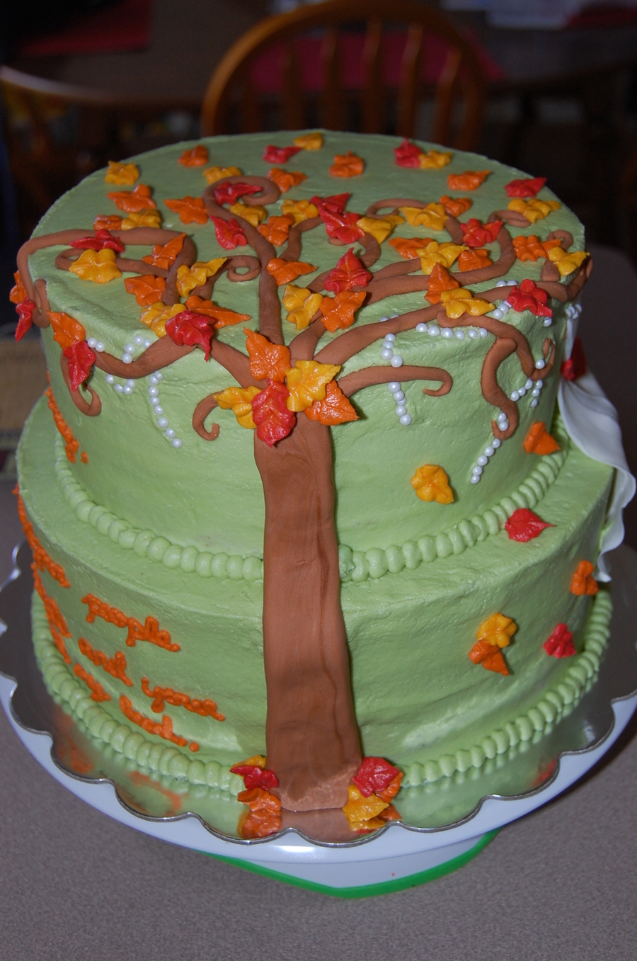 Fall Bridal Shower - CakeCentral.com