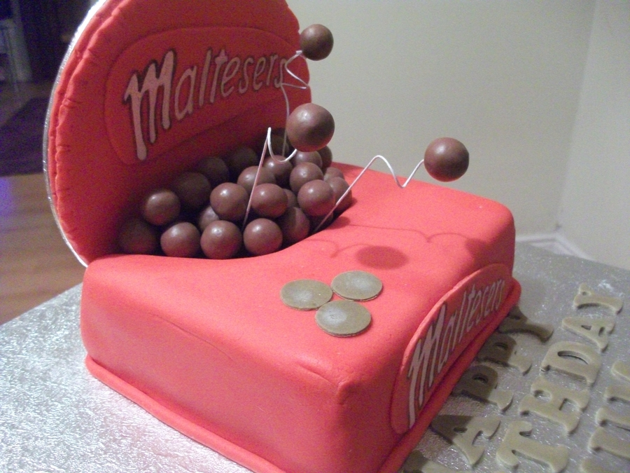 Box Of Maltesers Cakecentral Com