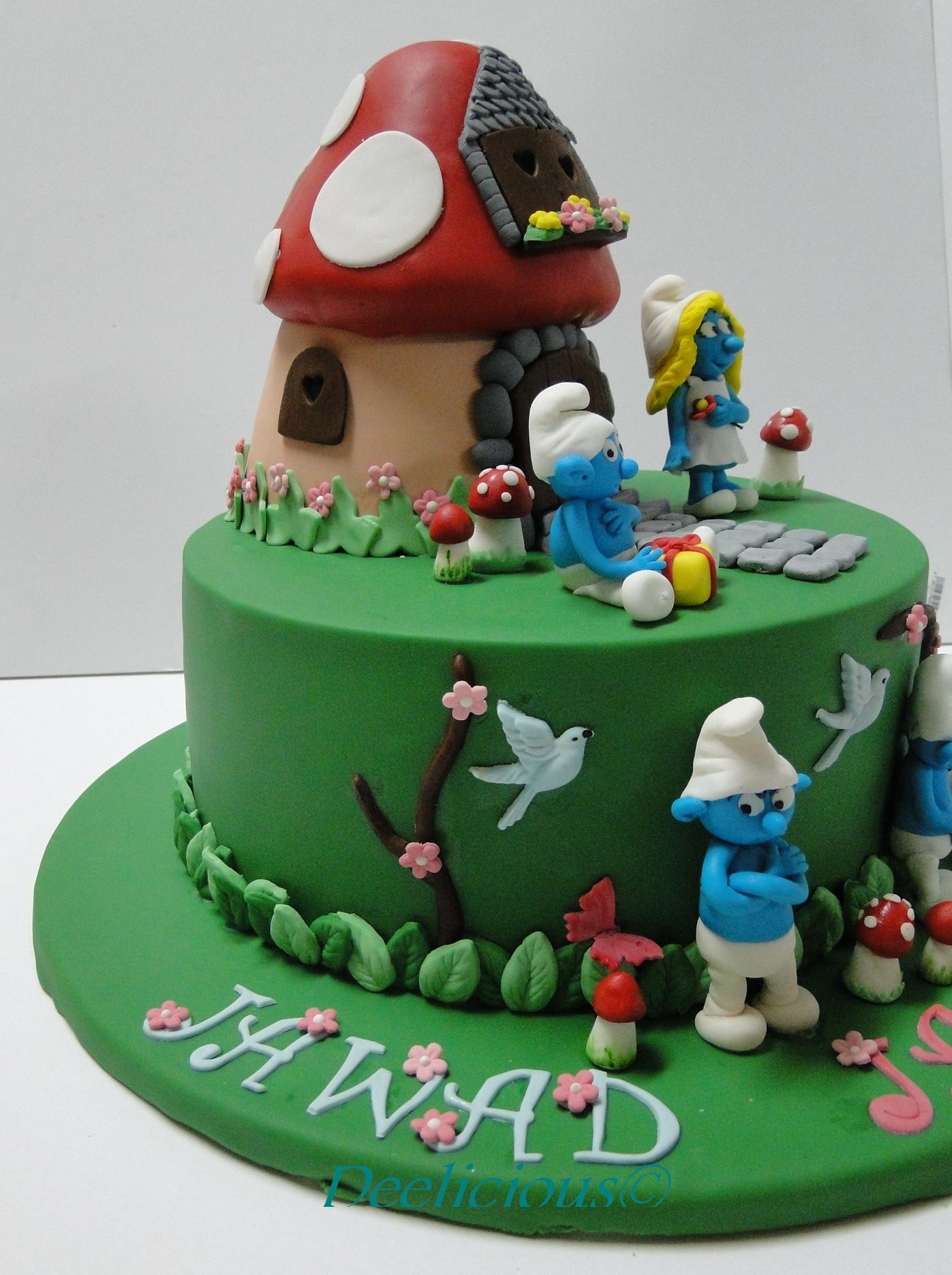 Smurfs Cake Cakecentral Com