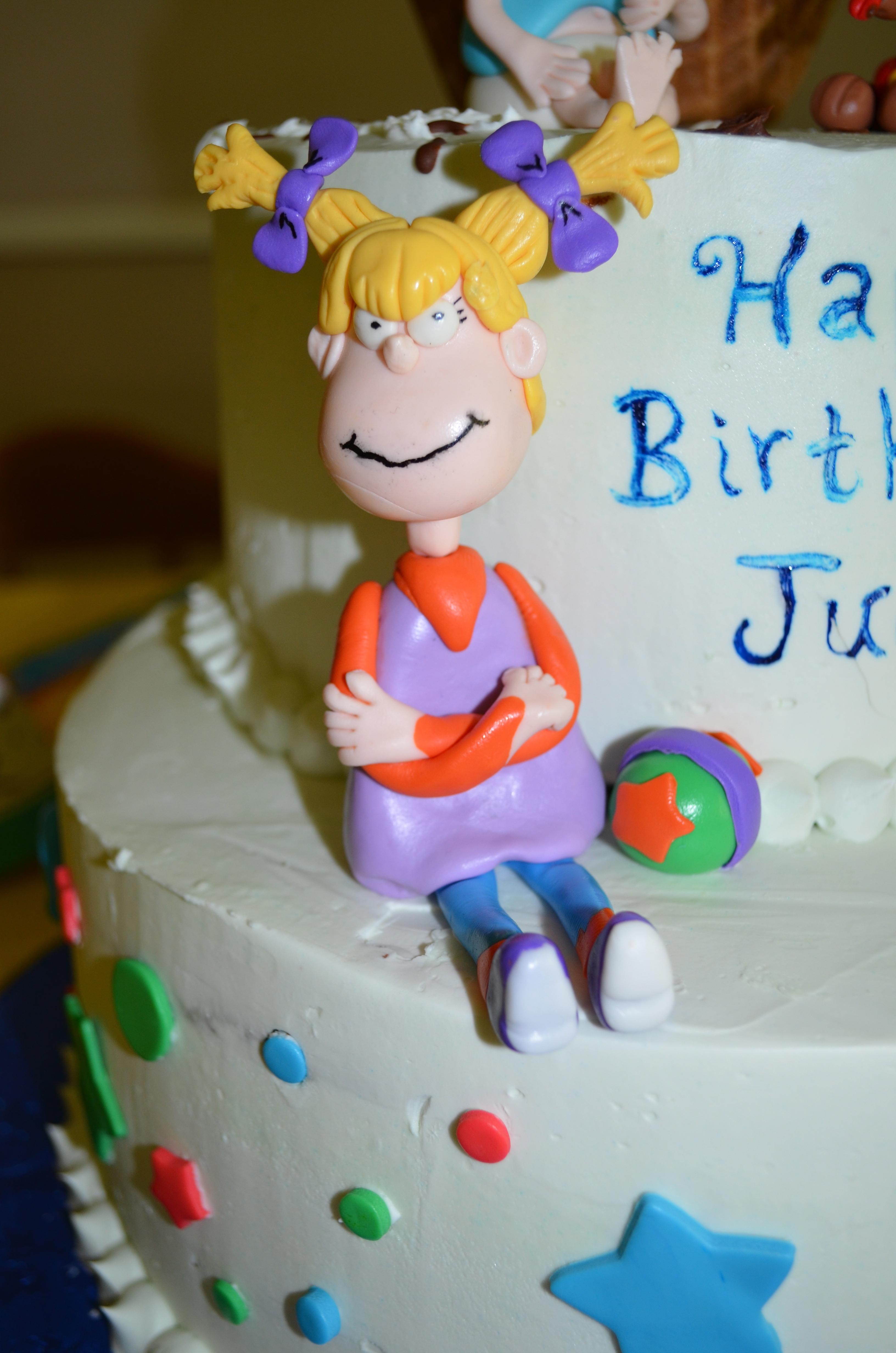 Rugrats Birthday Cake Cakecentral Com