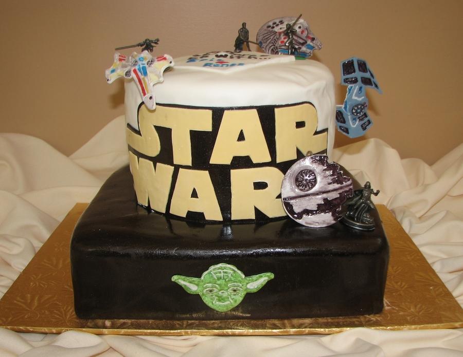 Star Wars Grooms Cake Cakecentral Com
