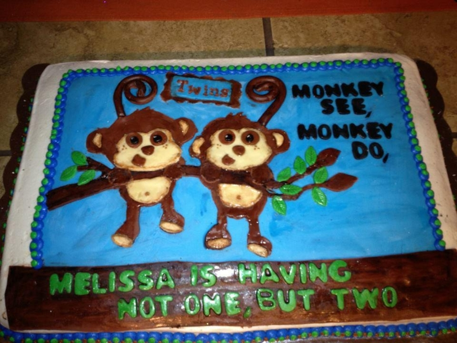 Monkey See, Monkey Do Not Just One, But Two!! on Cake Central