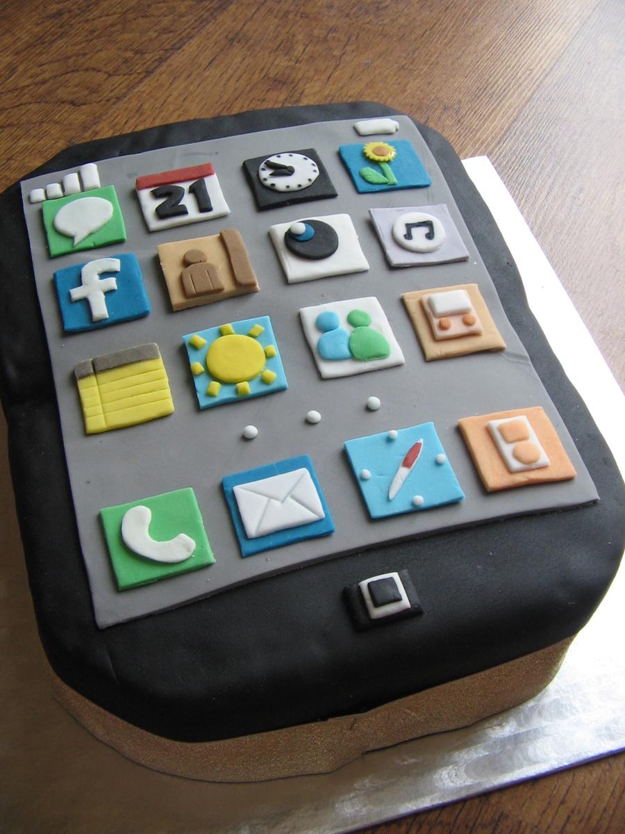 I Phone Birthday Cake Cakecentral