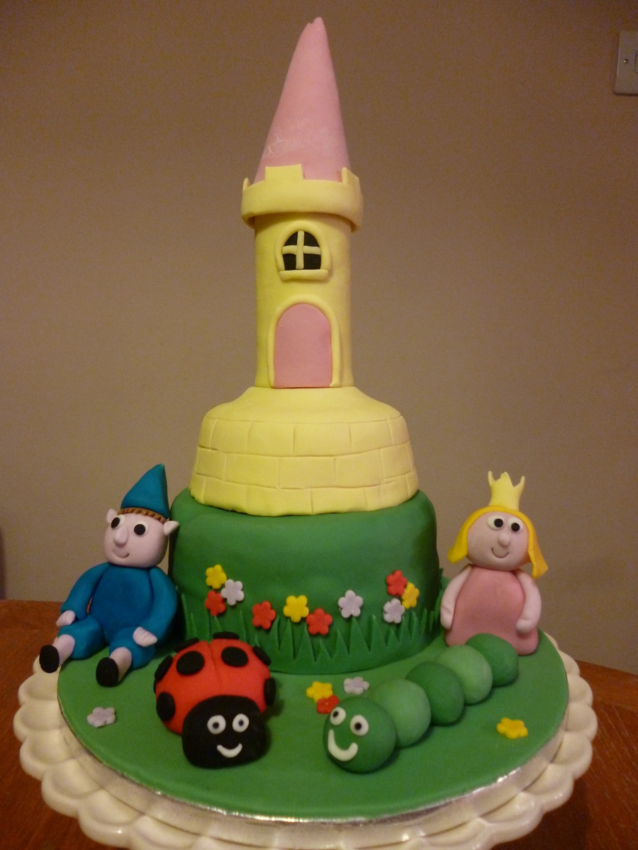 Ben & Holly's Little Kingdom on Cake Central