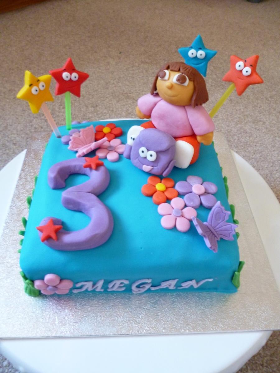 Dora The Explorer Cakes Birthday