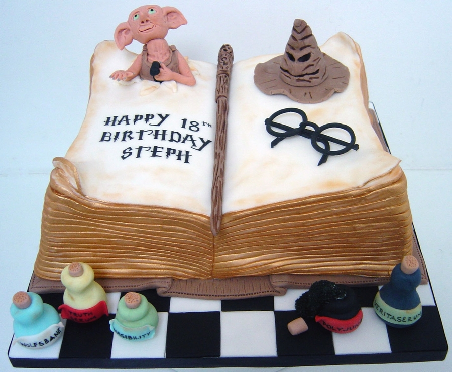 harry potter 18th birthday cake. Black Bedroom Furniture Sets. Home Design Ideas