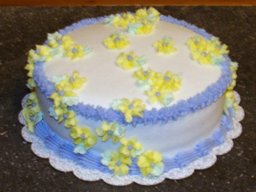 Wilton Cake Kit Course 1 : Wilton Course 1 Cake 1 - CakeCentral.com