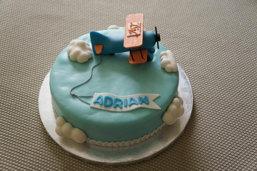 vintage Plane Cake CakeCentralcom