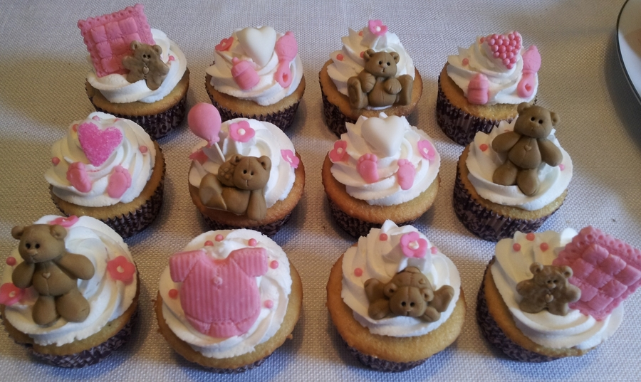 Teddy Bear Cupcakes  on Cake Central