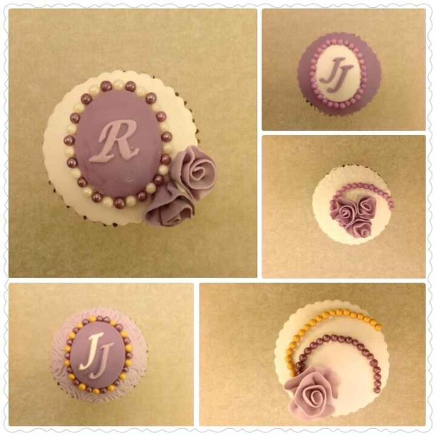 Just Tried Out Some New Designs For My Colleagues Upcoming Wedding Reception on Cake Central