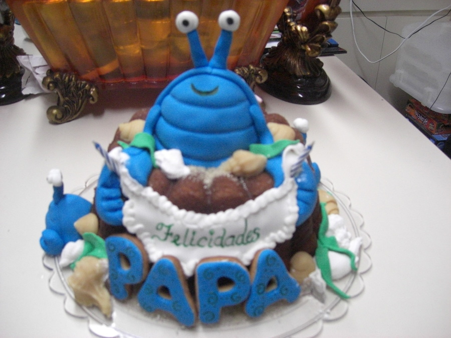 Crab Birthday Rum Cake Cakecentral
