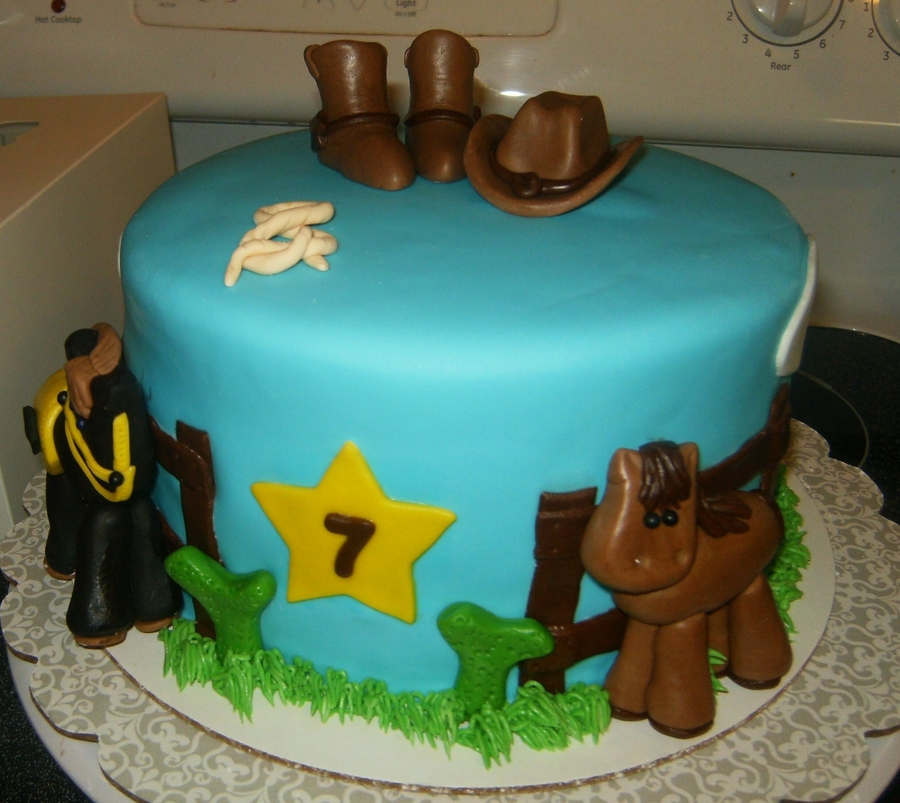 Horse/western Themed on Cake Central