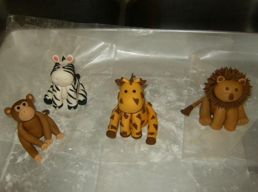 Jungle Animals on Cake Central