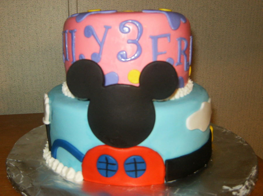 Micky Mouse Clubhouse Themed Cake on Cake Central