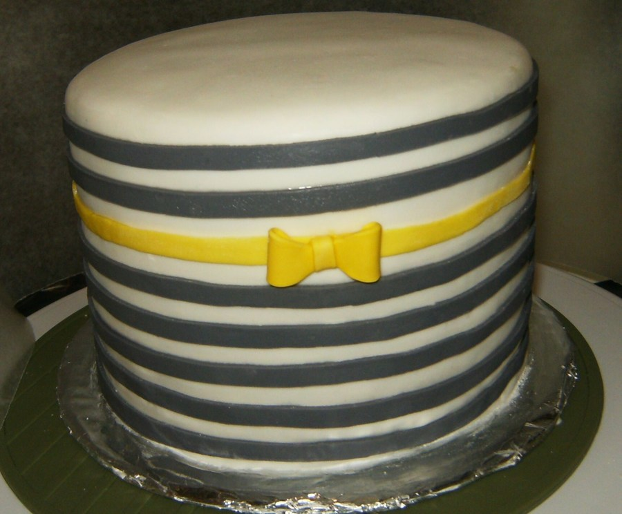 Inspired By Jessicakeblog To Make This Striped Cake on Cake Central