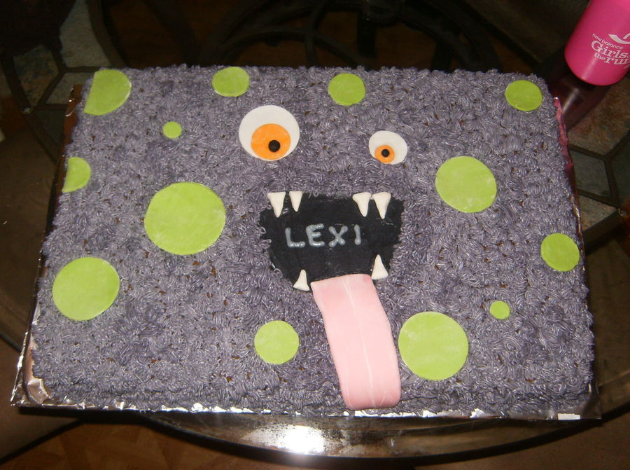 Monster Cake on Cake Central