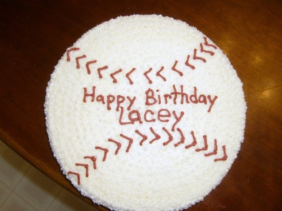 Lacy's Softball Birthday on Cake Central