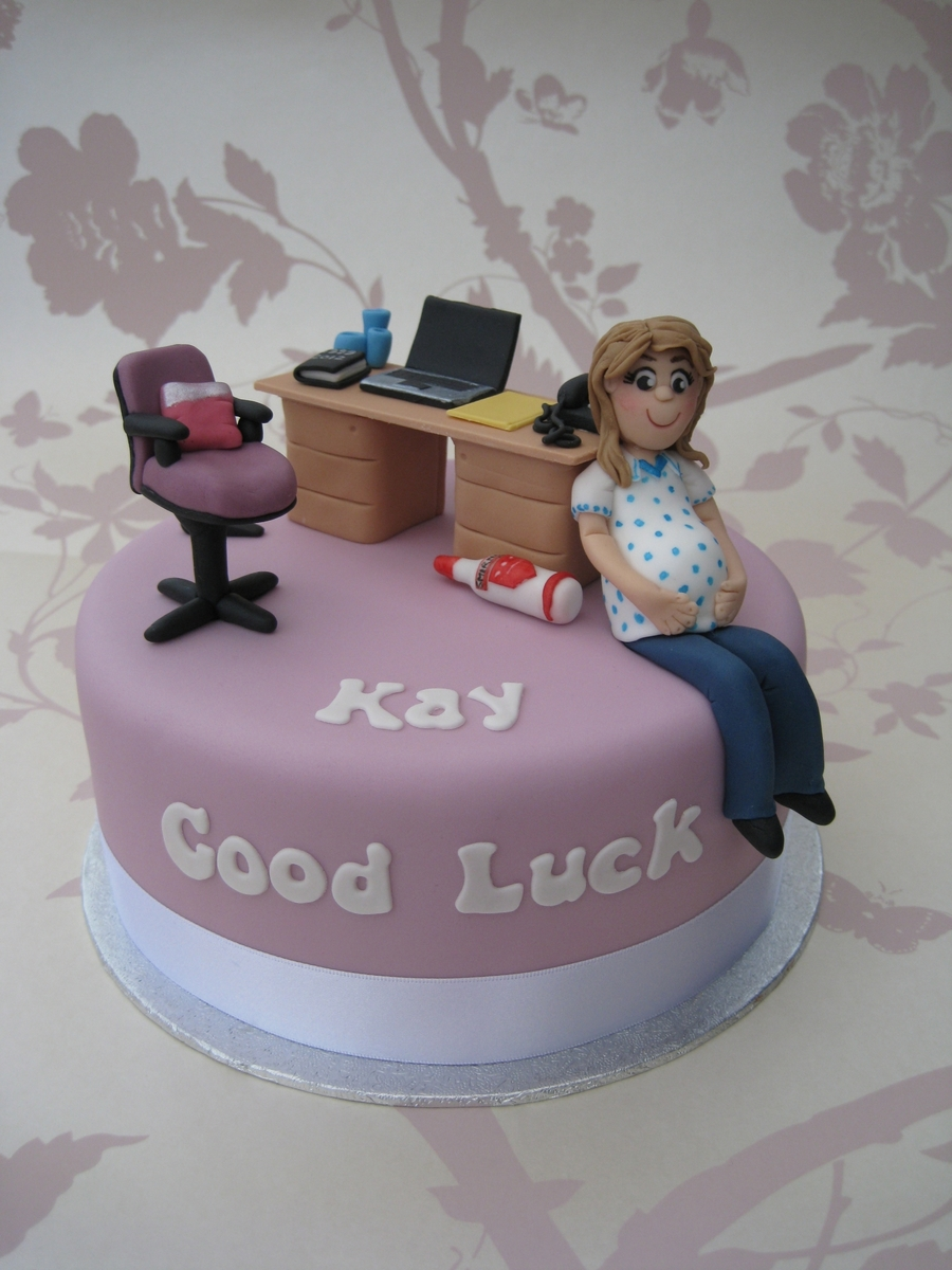 Baby Shower / Maternity Cake  on Cake Central