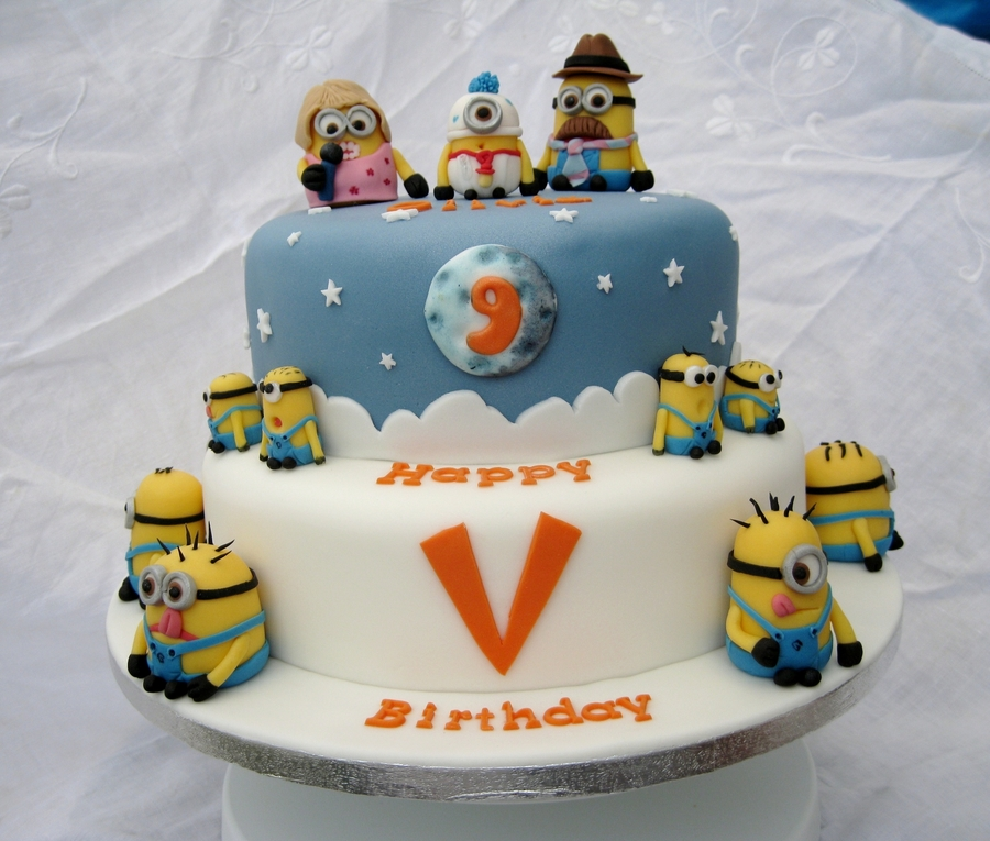 Amazing Despicable Me Birthday Cake Cakecentral Com Funny Birthday Cards Online Inifofree Goldxyz