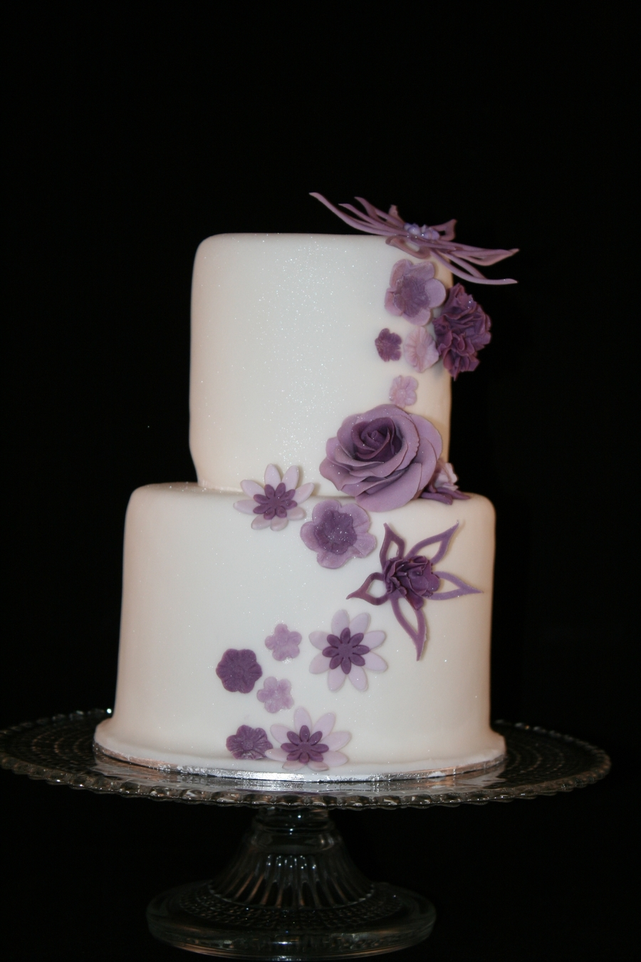 Mini Wedding Cake on Cake Central