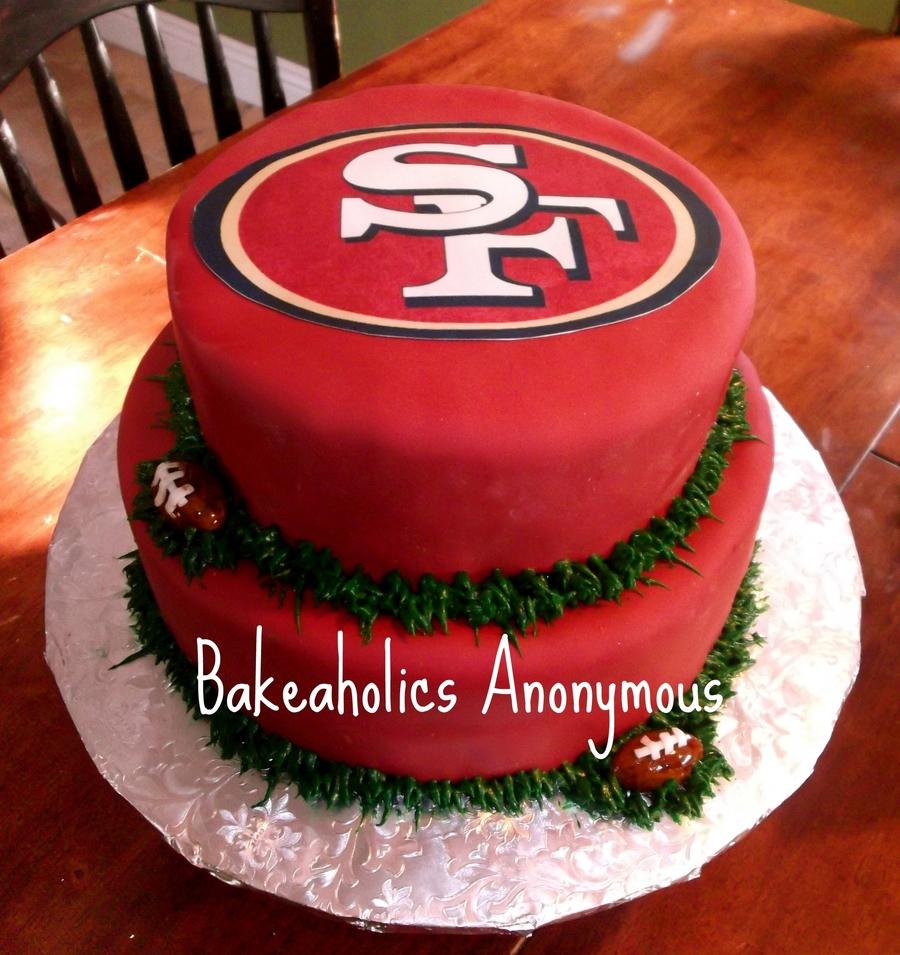 Birthday Cake Design San Francisco : San Francisco 49Ers Cake - CakeCentral.com